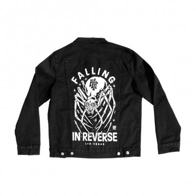 falling-in-reverse - Crawler Denim Jacket