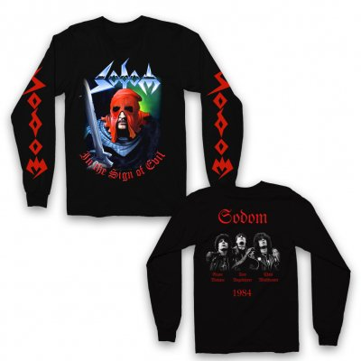 Sodom - In The Sign Of Evil Longsleeve (Black)