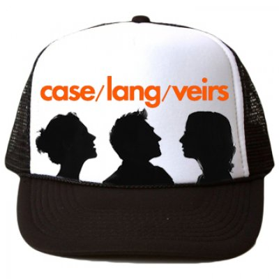 case-lang-veirs - Silhouette Trucker Hat