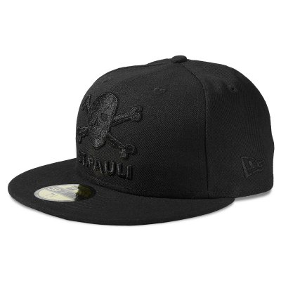 FC St Pauli - St. Pauli Skull 59Fifty Fitted Cap (Black)