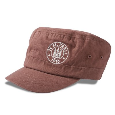 FC St Pauli - Club Crest Army Cap (Brown)