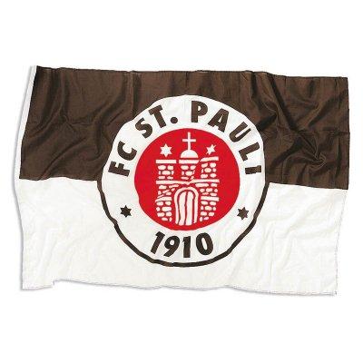 FC St Pauli - FC St Pauli Club Crest Flag (Large)