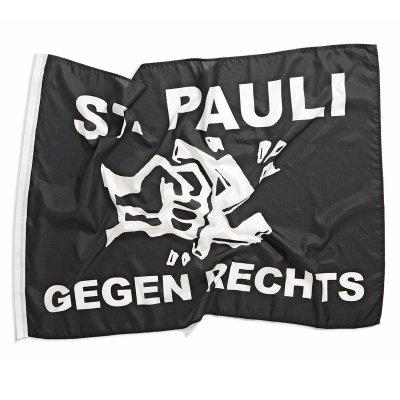 """FC St Pauli - FC St Pauli Fans Gegen Rechts Flag (36""""x48"""")"""