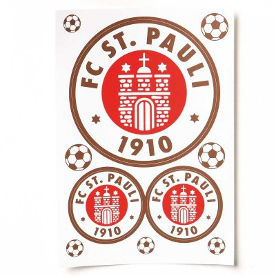 Club Crest Window Decal - 3pack