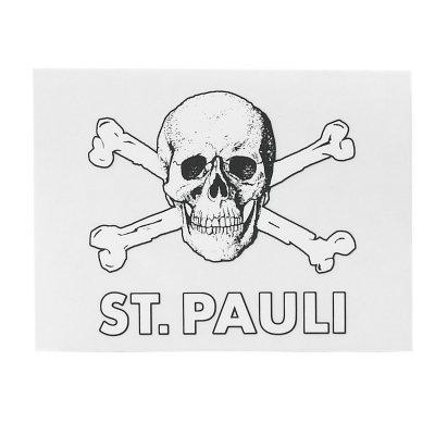 FC St Pauli - St. Pauli Skull Clear Sticker
