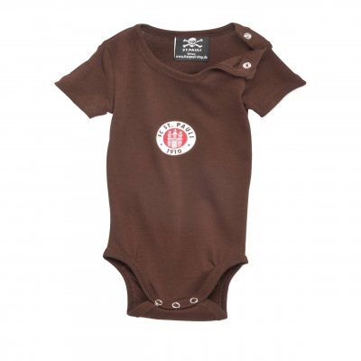 Club Crest Baby Onesie (Brown)