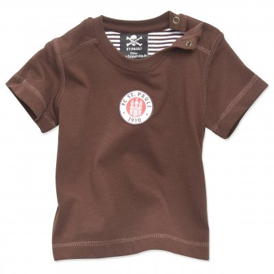 FC St Pauli - Baby Club Crest T-Shirt (Brown)