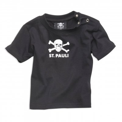 FC St Pauli - Baby St. Pauli Skull T-Shirt (Black)