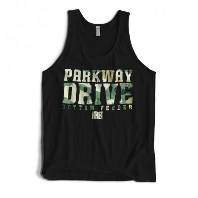 parkway-drive - Snap Your Neck Camo Tank (Black)