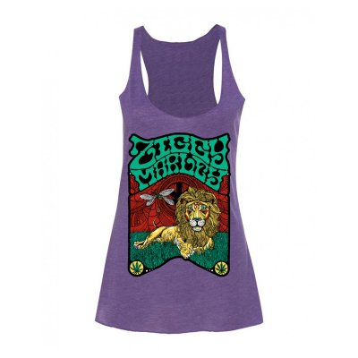 ziggy-marley - Fly Rasta Lion Tank - Women's