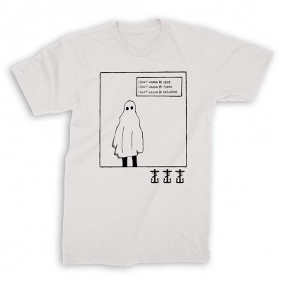 frank-iero - Ghost T-Shirt (White)