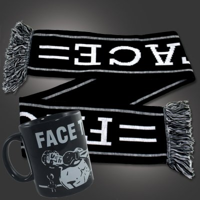 face-to-face - Mug + Scarf Bundle