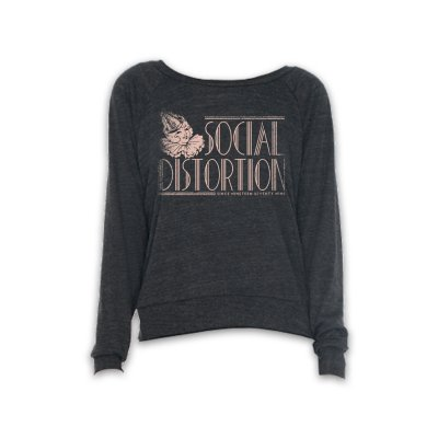 social-distortion - Deco Party Hat Sweatshirt - Women's (Dark Heather)