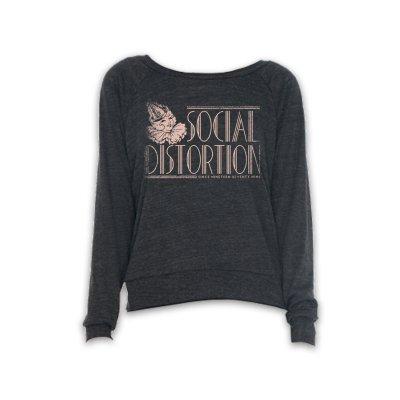 social-distortion - Deco Party Hat Sweatshirt - Women's (Dark Heather)
