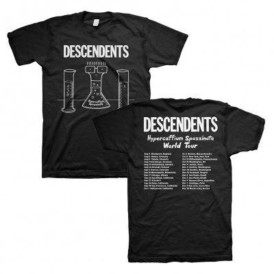 descendents - Hypercaffium Tour T-Shirt (Black)