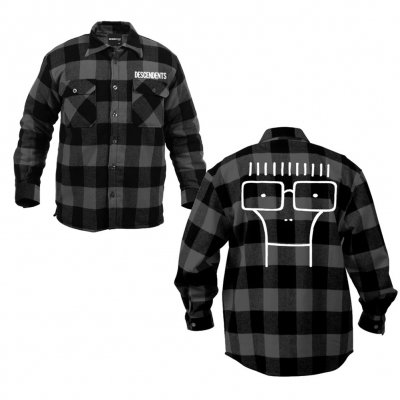 Descendents - Milo Flannel (Black/Gray)