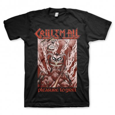 Grill Em All - Pleasure To Grill Tee
