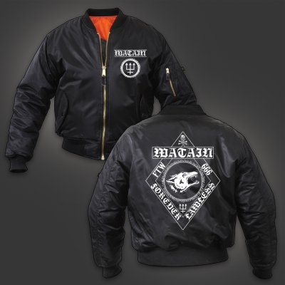 watain - Forever Lawless Bomber Jacket