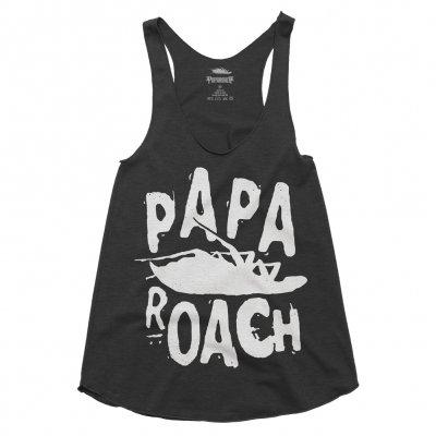 papa-roach - Classic Logo Womens Tank (Black)