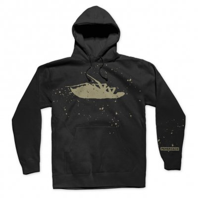 papa-roach - Bleached Logo Pullover (Black)