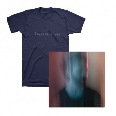 Peter Silberman - Impermanence CD/T-Shirt (Navy) Bundle