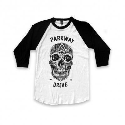 parkway-drive - 2016 Skull Raglan