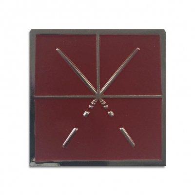 Touche Amore - Square Logo Pin (Maroon)