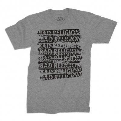 bad-religion - Repeater Tee (Heather Grey)