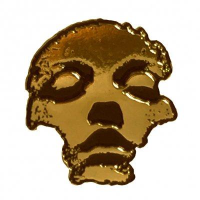 Converge - Jane Doe Face Enamel Pin (Gold)