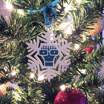 descendents - Milo Snowflake Ornament