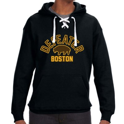 defeater - Hockey Pullover Hoodie (Black)