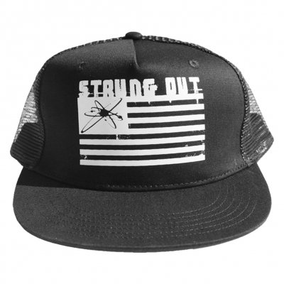 strung-out - Astrolux Flag Trucker Hat (Black)