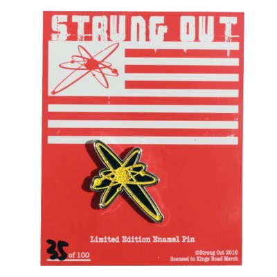 Strung Out - Limited Edition Astrolux Enamel Pin (Gold)