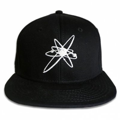 strung-out - Astrolux Flip-Up Logo Snapback Hat (Black)