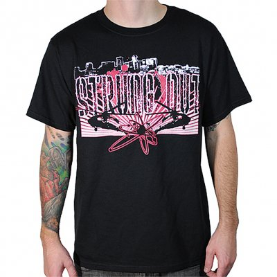 strung-out - Blackhawks Tee (Black)