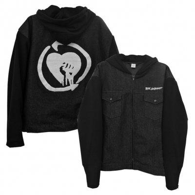 rise-against - HeartFist Denim Jacket