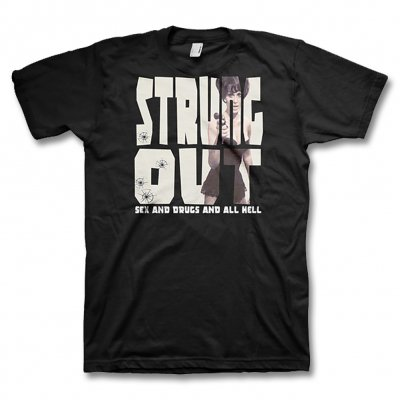 Strung Out - Sex Drugs & Hell Tee (Black)
