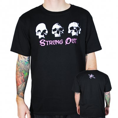 strung-out - Skulls Tee (Black)