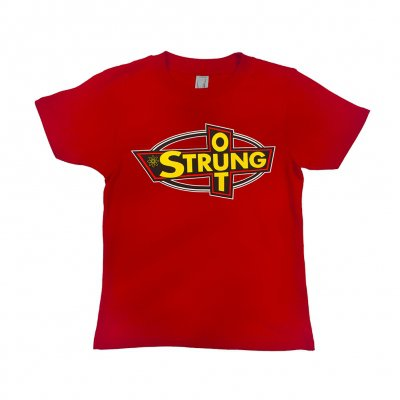 strung-out - OG Logo Kids Tee (Red)