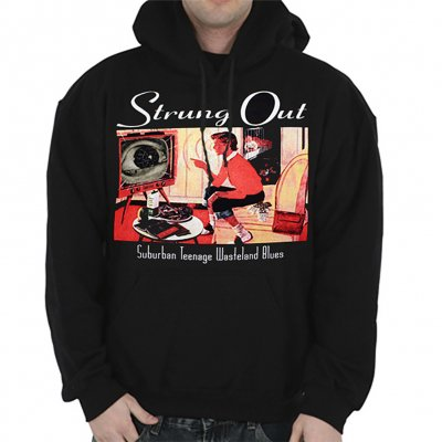 Strung Out - Suburban Teenage Wasteland Pullover Hoodie (Black)