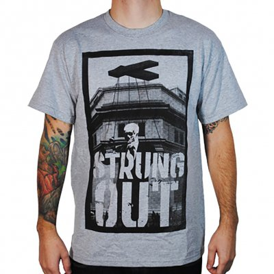 Strung Out - Strung Out Skull Puppet Tee (Heather Gray)