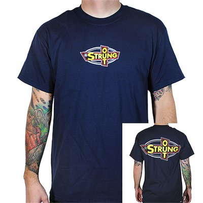 Strung Out - OG Logo Tee (Navy)