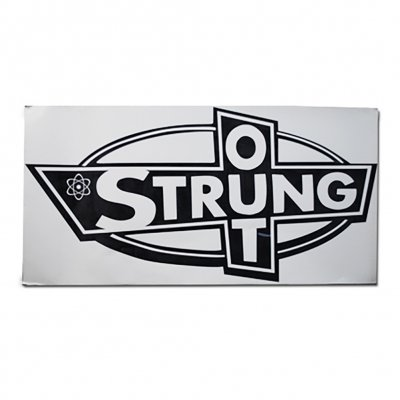 "strung-out - Big Ass OG Logo Sticker (Black 12.5""x24"")"