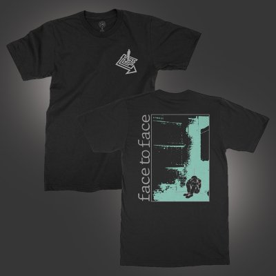 face-to-face - Kid In The Corner T-Shirt (Black)
