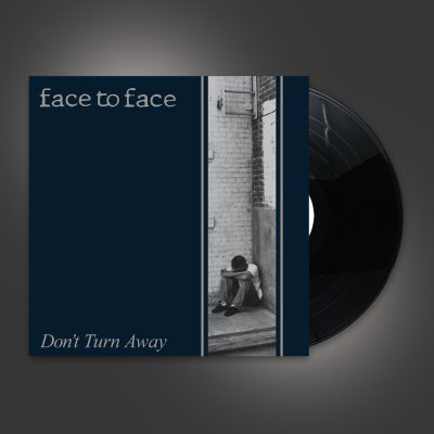 face-to-face - Don't Turn Away LP (Black)