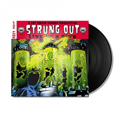 strung-out - Live In A Dive 2xLP (Black)