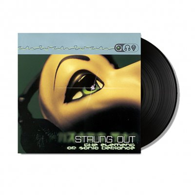"""Strung Out - The Element Of Sonic Defiance EP 12"""" (Black)"""