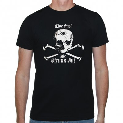 Strung Out - Live Fast Tee (Black)