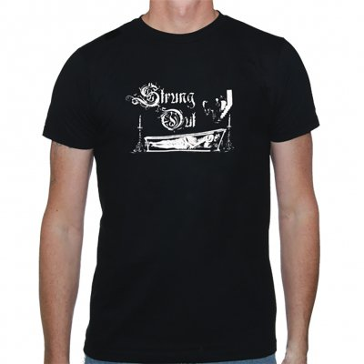 strung-out - Coffin Tee (Black)