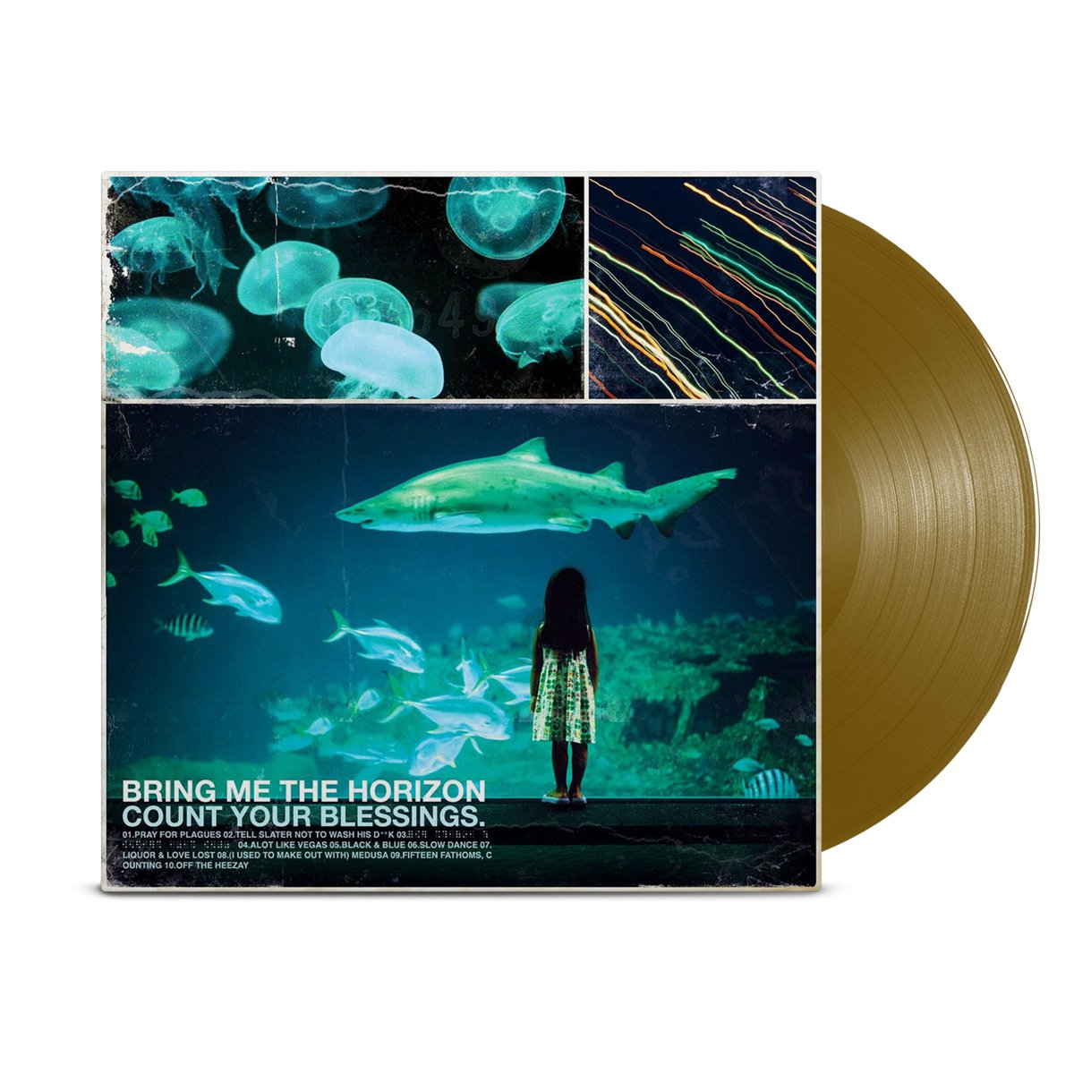 IMAGE | Count Your Blessings LP (Metallic Gold)